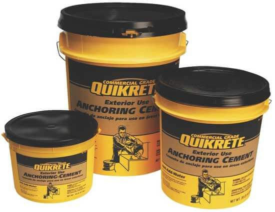 Quikrete Anchoring Cement