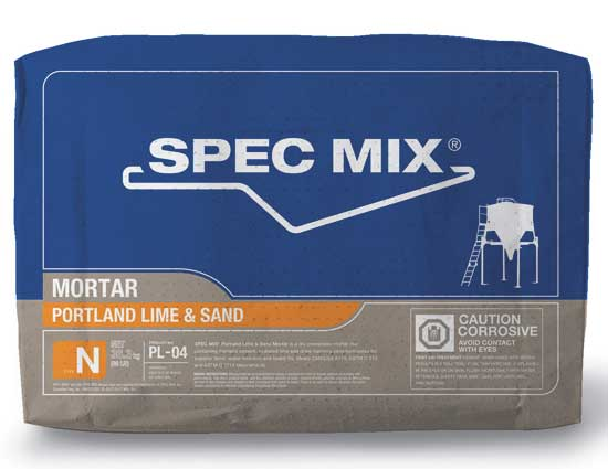 Spec Mix Mortar PL-04 Type N