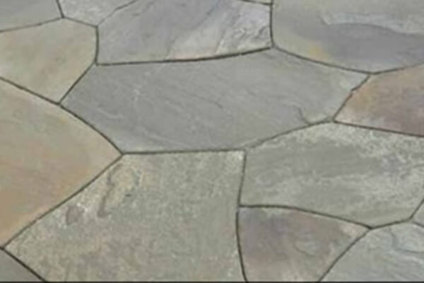 Irregular shape bluestone